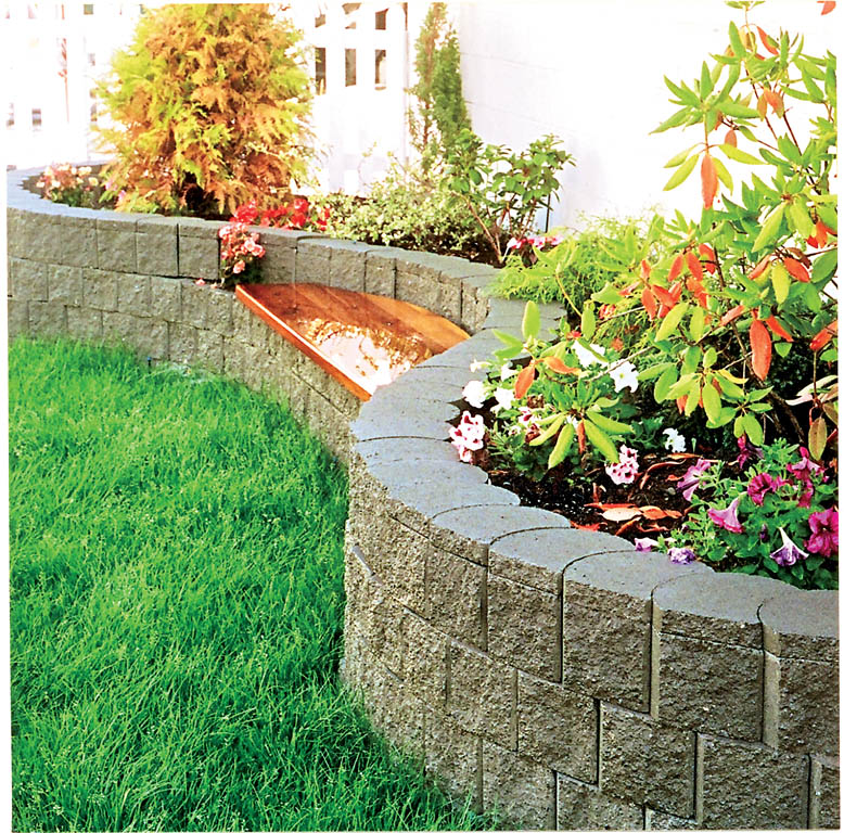 Landscaping With Limestone Blocks : Terralite landscaping block the blockmakers