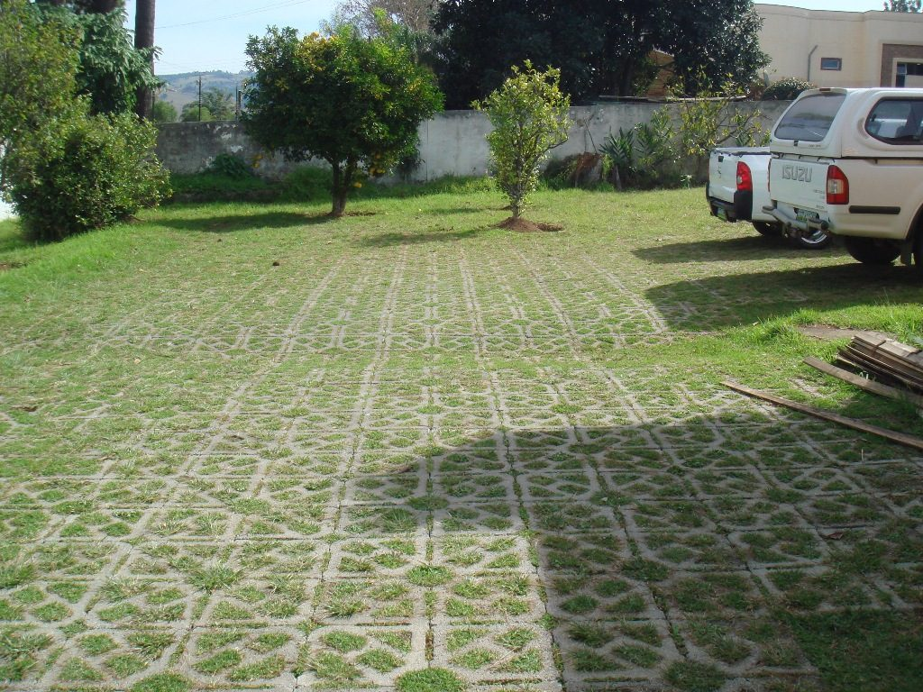 Grass Permeable Paver Driveway to Pin on