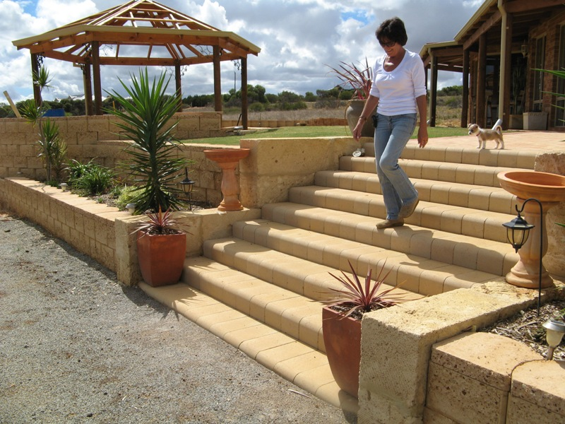 interlock steps how to build