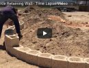 How to build a retaining wall - video Thumbnail